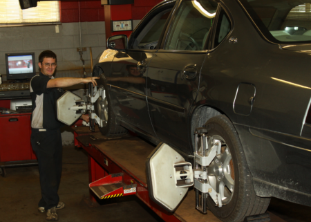 M&R Auto Repair Alignment Services
