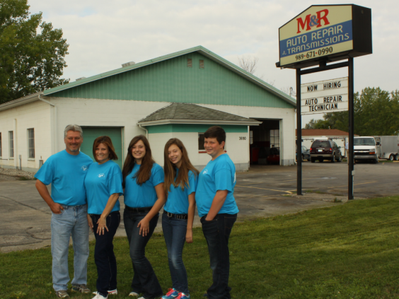 M&R Auto Repair Family Owned and operated since 1997